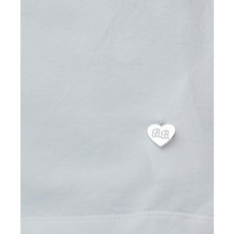 Белая блузка с жабо Button Blue (фото 5)