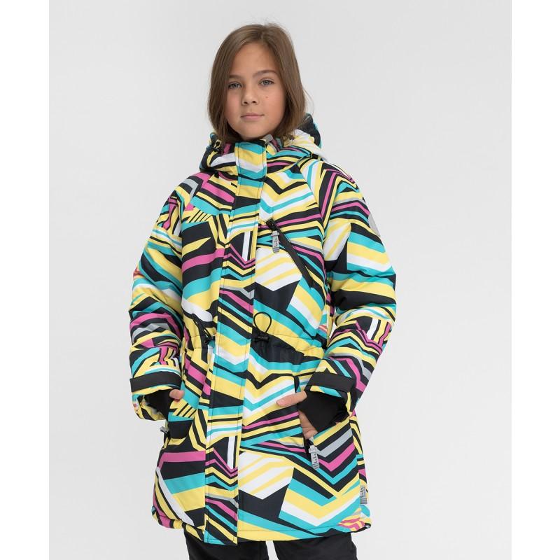 Зимнее пальто Active Button Blue