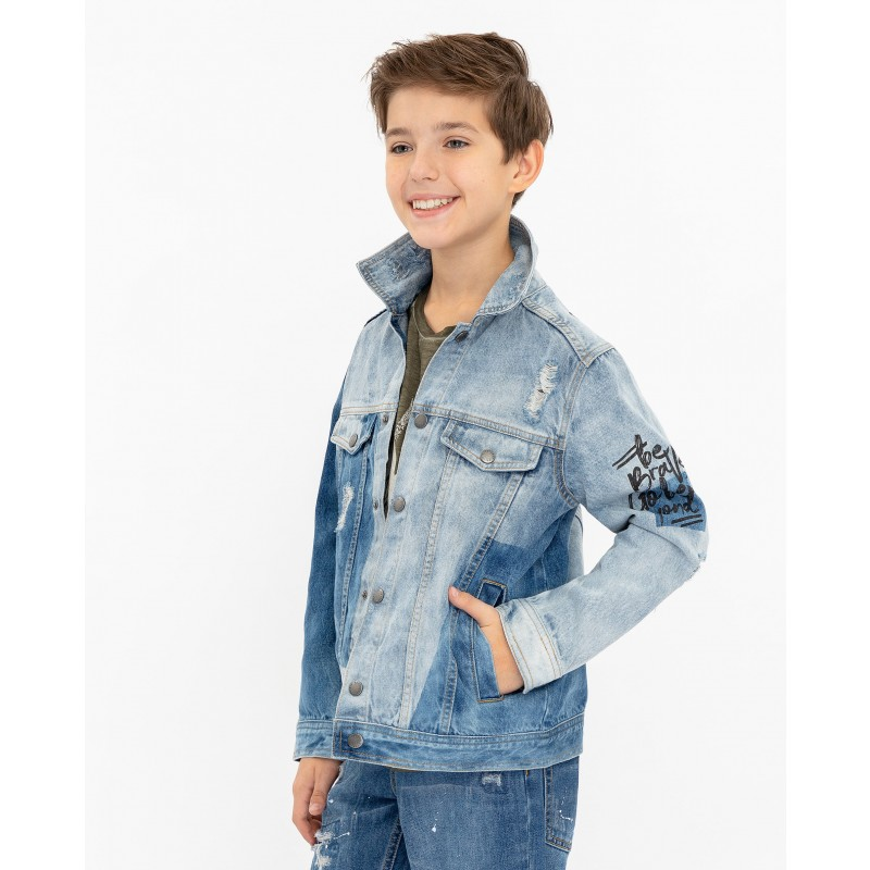 Джинсовая куртка Gulliver (фото 2)