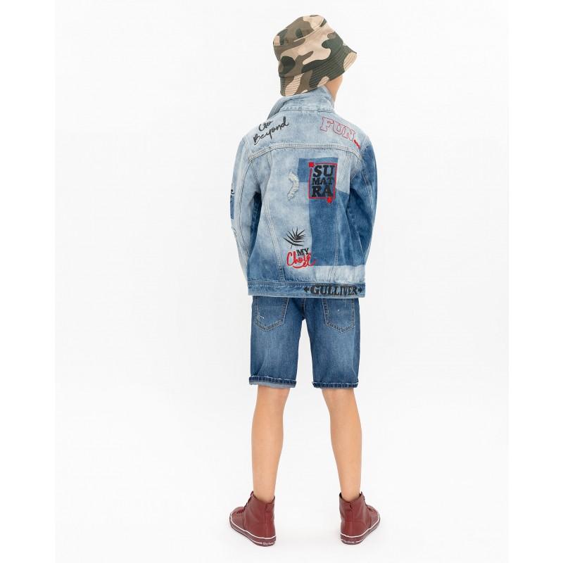 Джинсовая куртка Gulliver (фото 5)