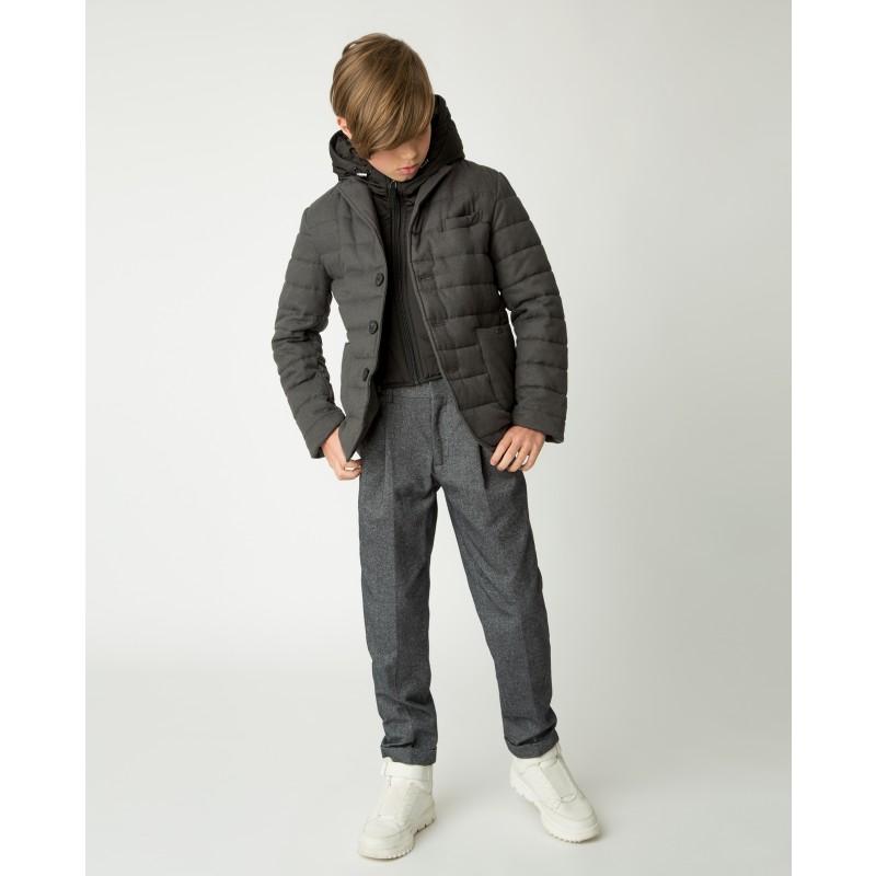 Серая демисезонная куртка Gulliver