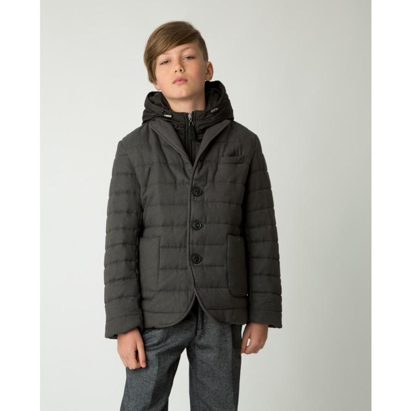 Серая демисезонная куртка Gulliver (фото 2)