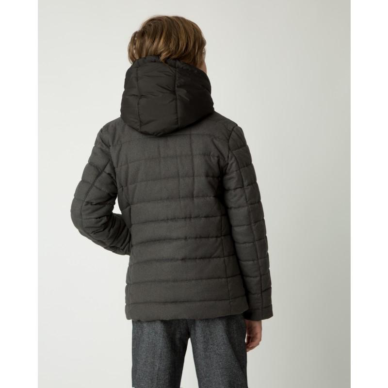 Серая демисезонная куртка Gulliver (фото 3)