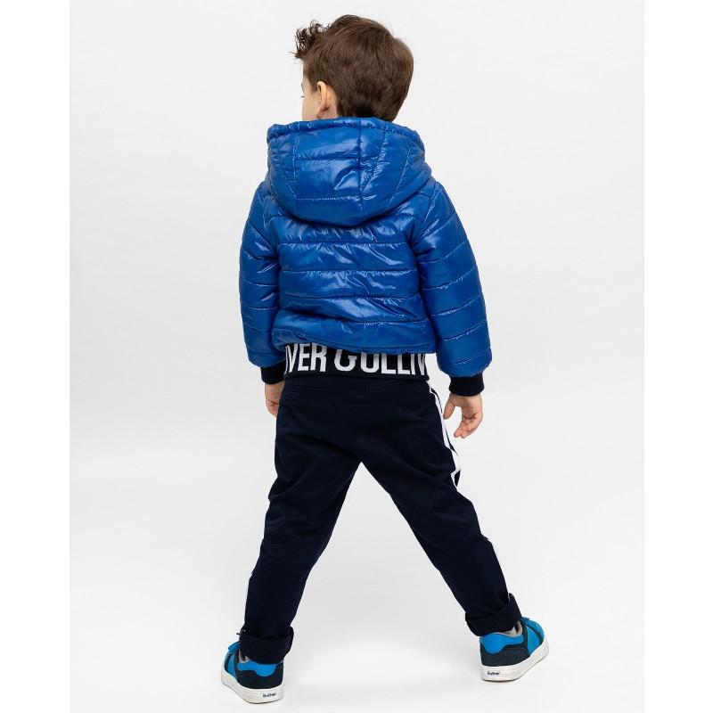 Синяя демисезонная куртка Gulliver (фото 4)