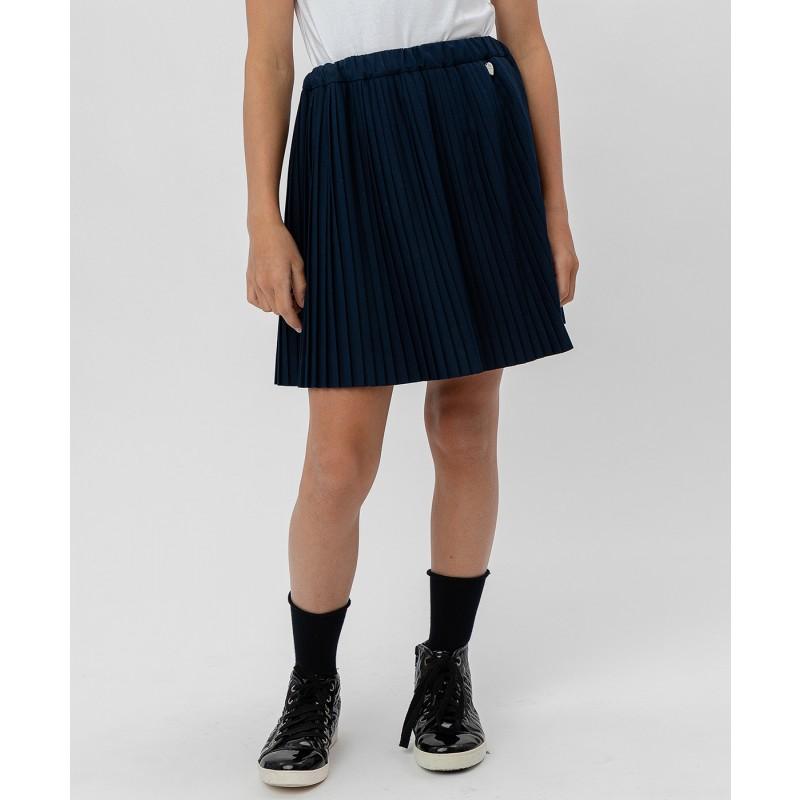 Синяя плиссированная юбка Button Blue (фото 2)