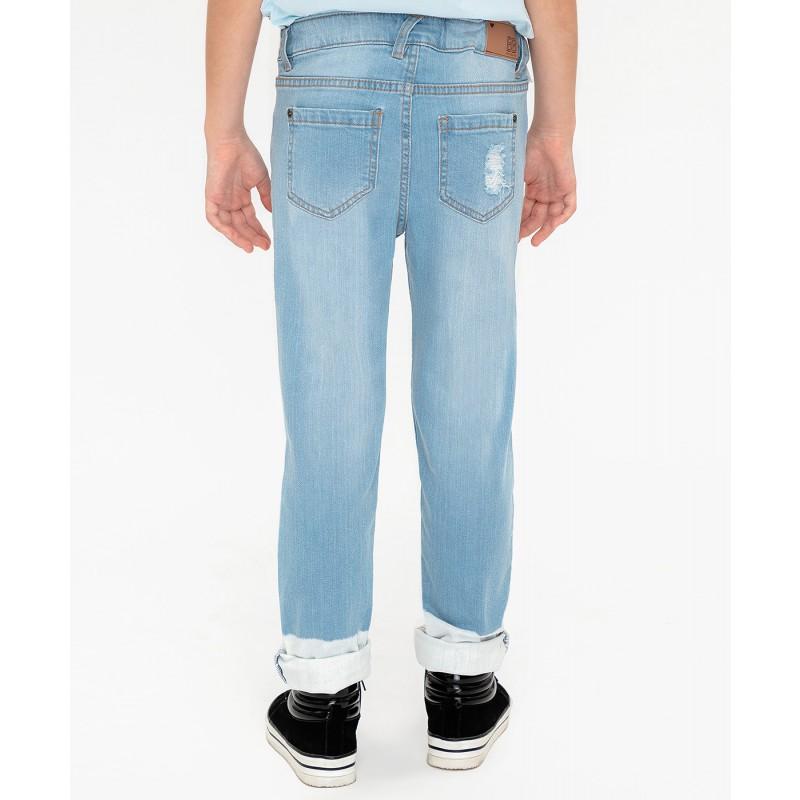 Джинсы Slim fit Button Blue (фото 5)