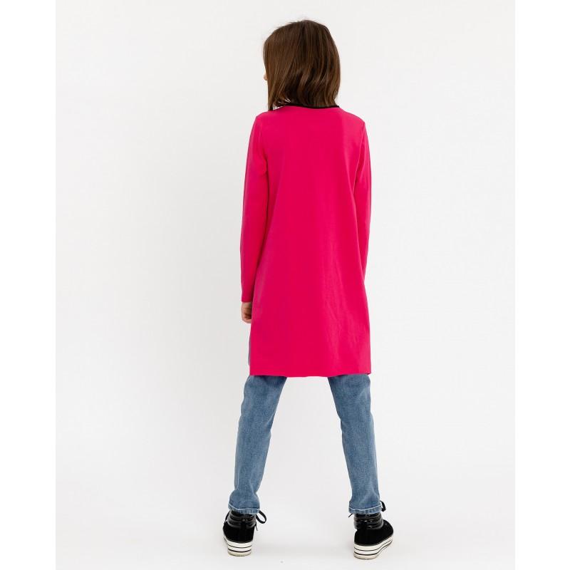 Розовая туника с удлиненной спинкой Gulliver (фото 3)