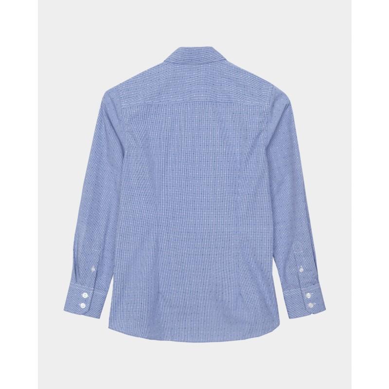 Синяя рубашка Gulliver (фото 5)