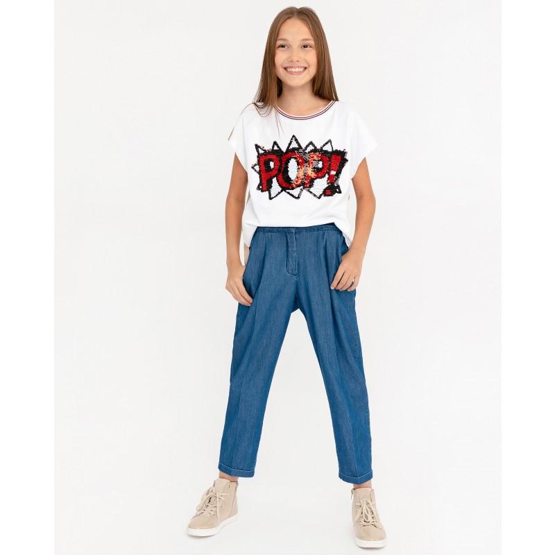 Брюки из джинсовой ткани Gulliver