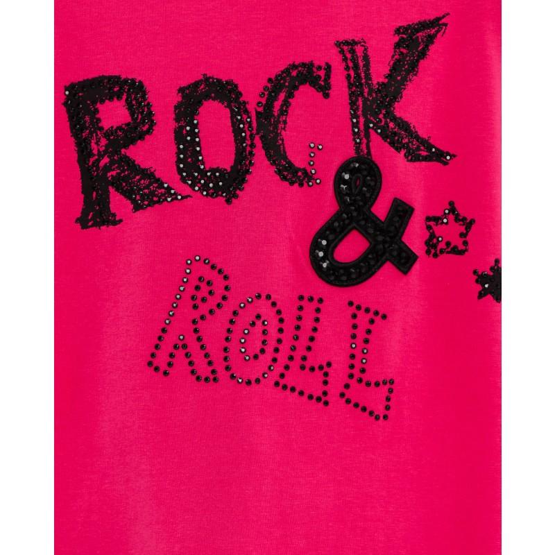 Розовая туника с удлиненной спинкой Gulliver (фото 4)