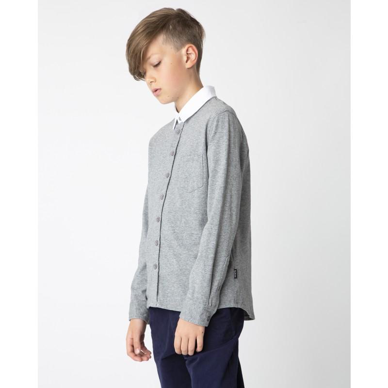 Серая рубашка Gulliver