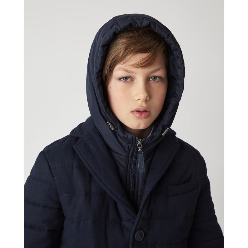 Синяя демисезонная куртка Gulliver (фото 2)