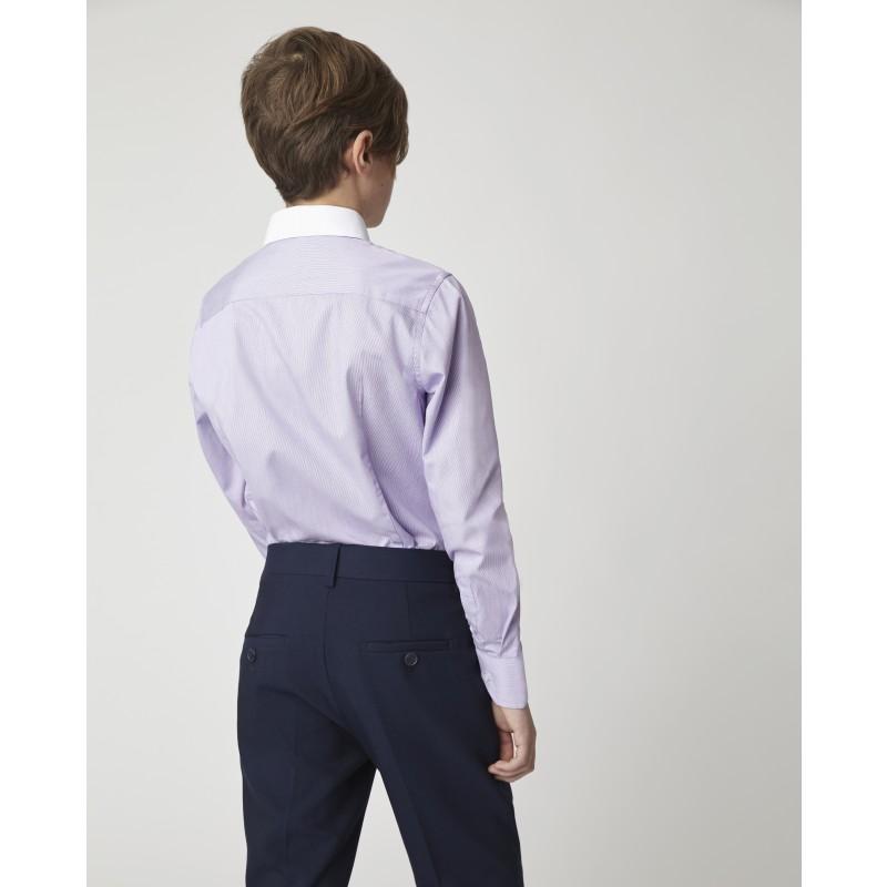 Сиреневая рубашка Gulliver (фото 2)