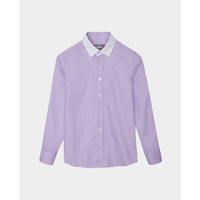 Сиреневая рубашка Gulliver (фото 4)