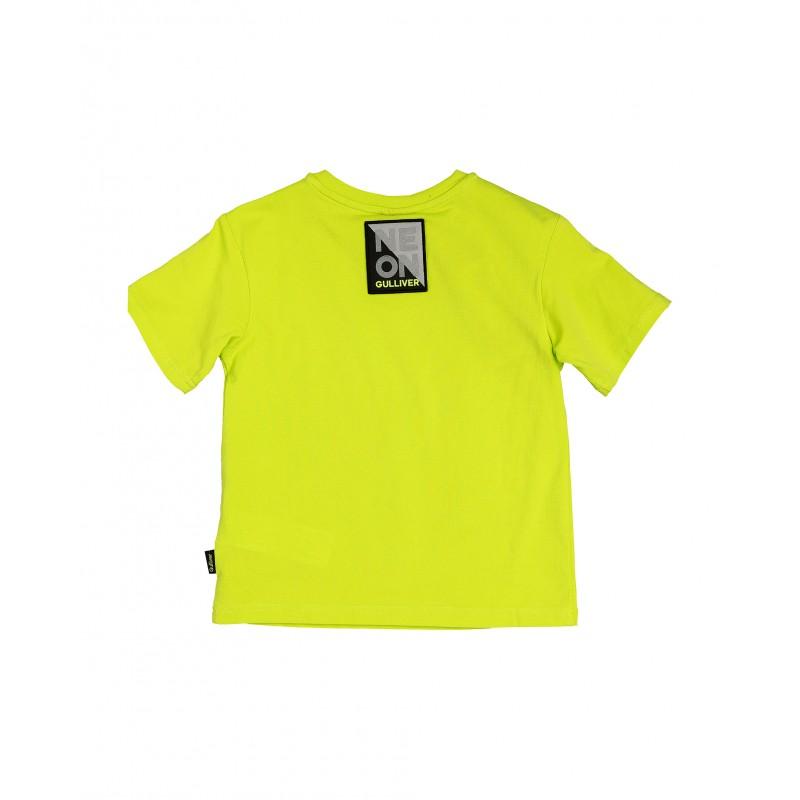 Салатовая футболка с принтом Gulliver (фото 2)