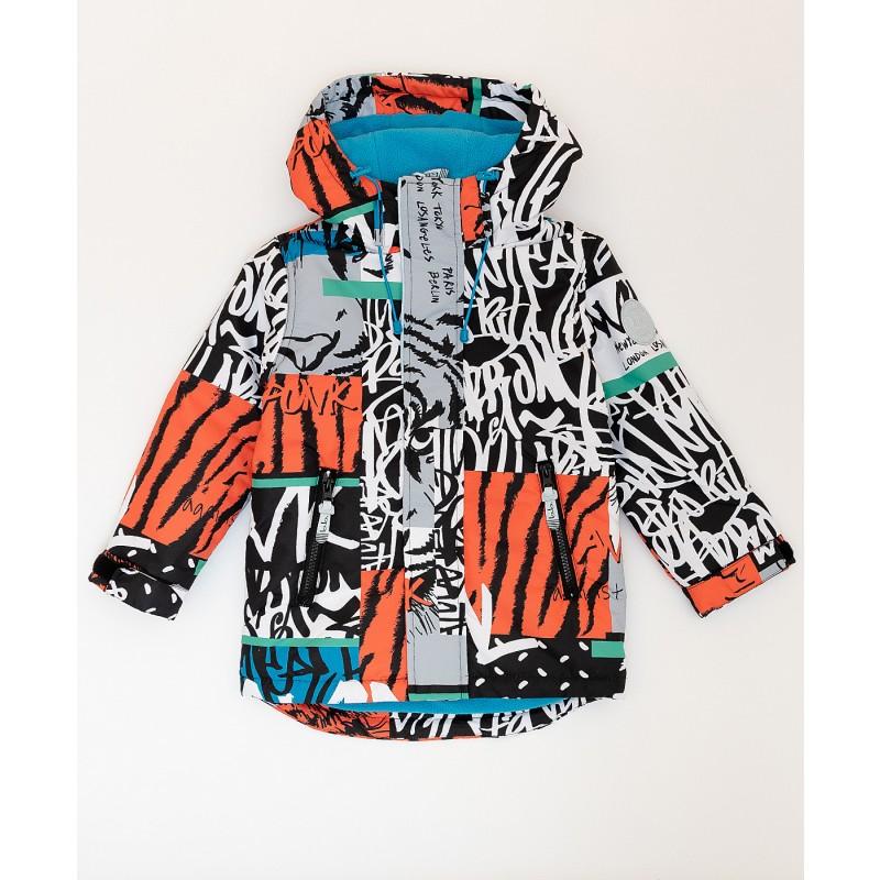 Демисезонная куртка Active для мальчика Button Blue