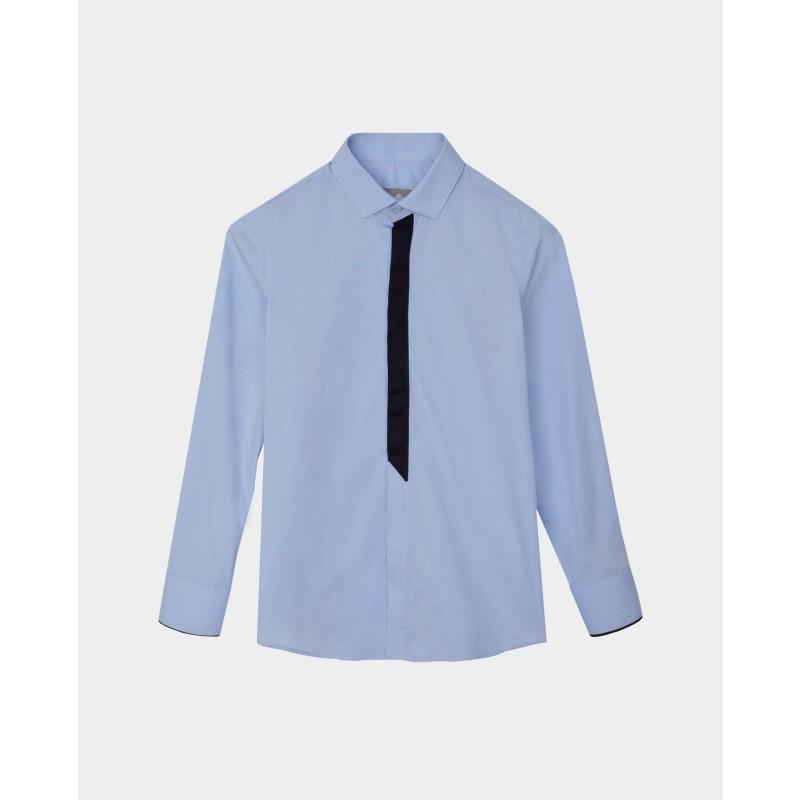 Голубая рубашка Gulliver (фото 3)