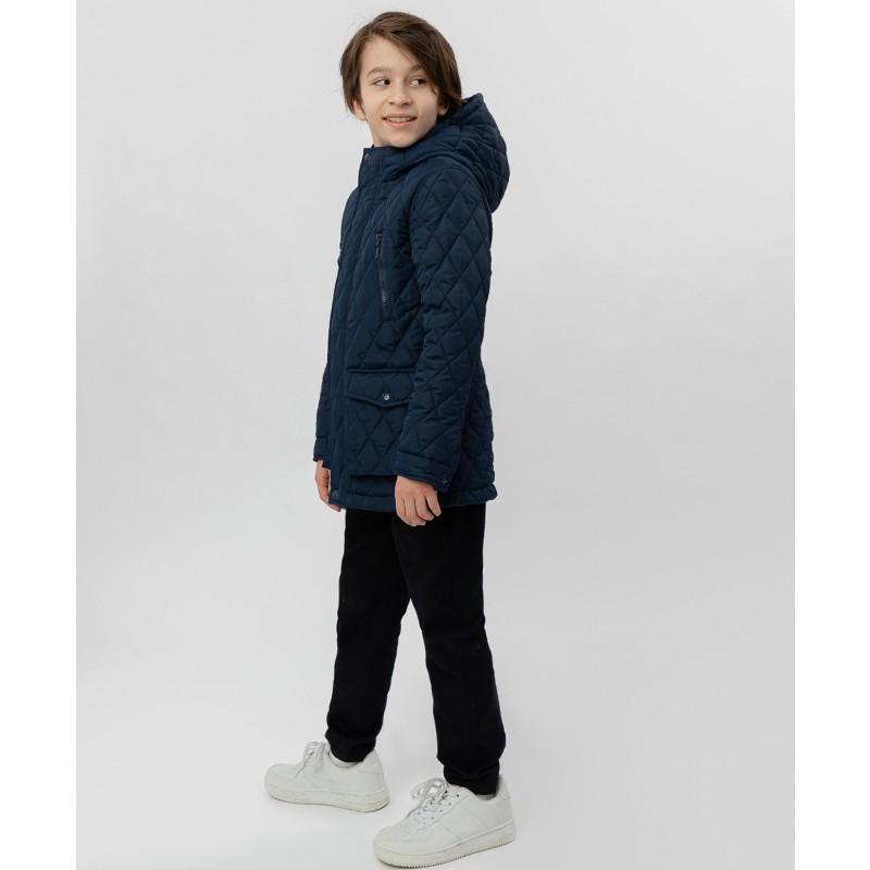 Синяя куртка Button Blue (фото 3)