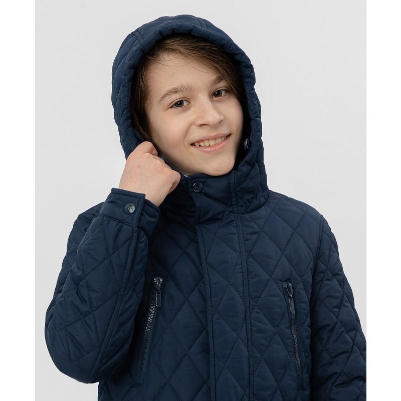 Синяя куртка Button Blue (фото 5)