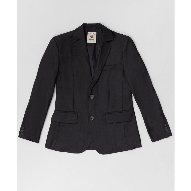 Серый пиджак Button Blue
