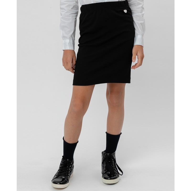 Черная юбка Button Blue (фото 2)