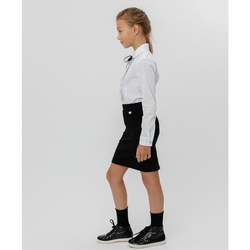 Черная юбка Button Blue (фото 3)