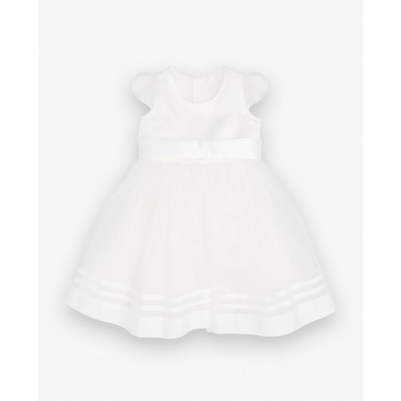 Белое нарядное платье Gulliver