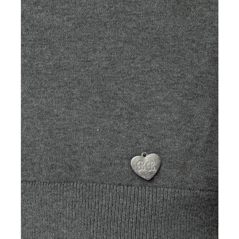 Серый тонкий кардиган Button Blue (фото 5)