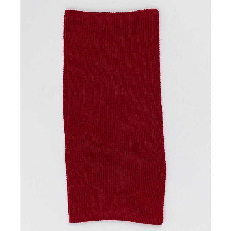 Красный вязаный воротник Button Blue (фото 2)