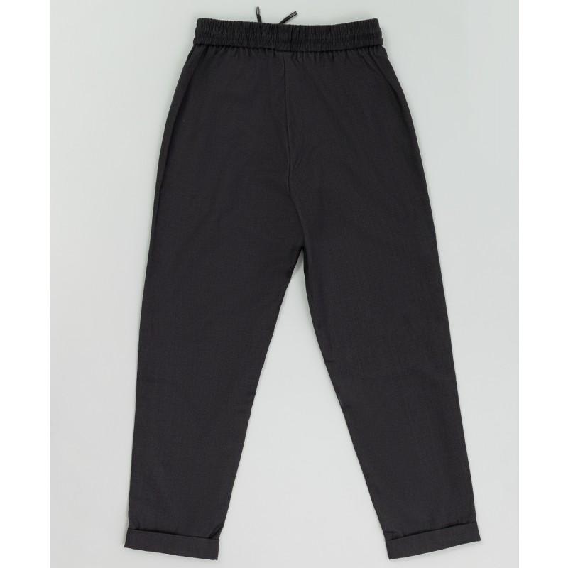 Серые брюки на шнурке Button Blue (фото 2)