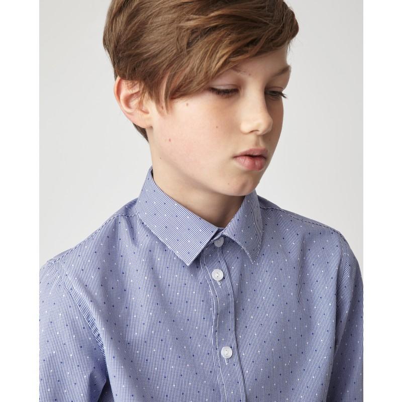 Синяя рубашка Gulliver (фото 3)