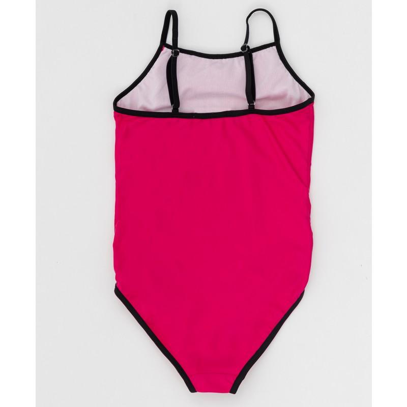 Розовый слитный купальник Button Blue (фото 2)