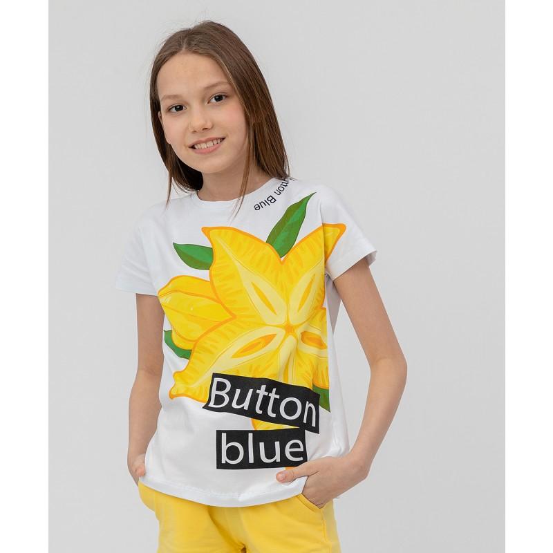 Комплект из 2 футболок Button Blue (фото 2)