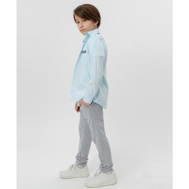 Рубашка с принтом Button Blue (фото 3)