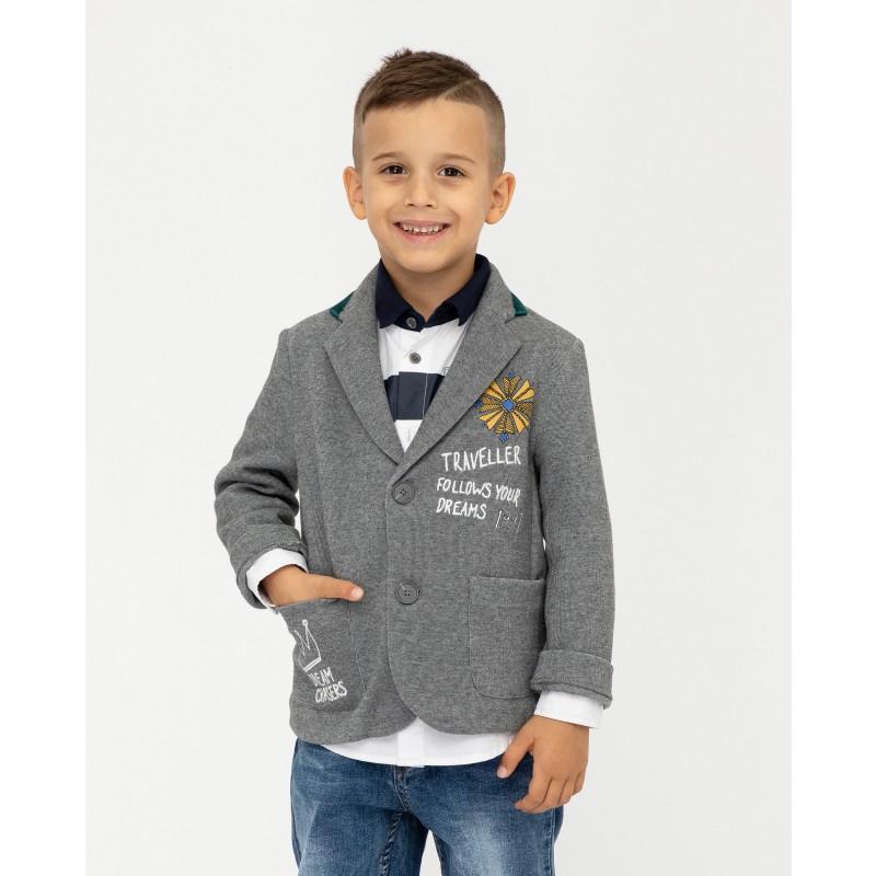 Серый пиджак Gulliver (фото 5)