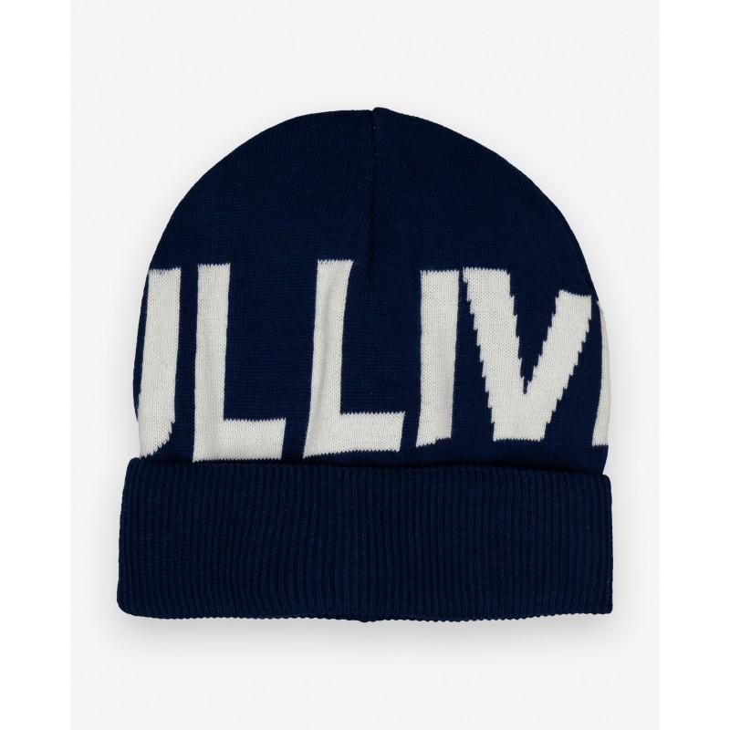 Синяя вязаная шапка Gulliver (фото 4)