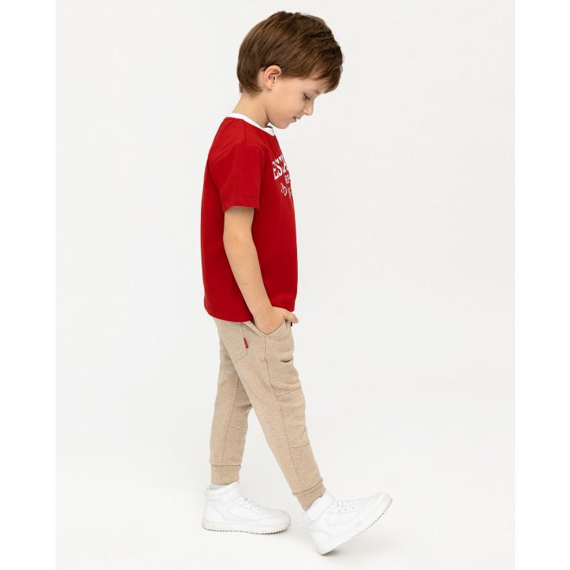 Красная футболка с принтом Gulliver (фото 3)