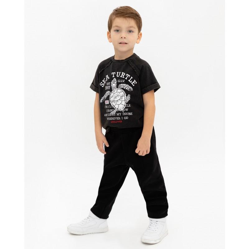 Черные брюки Gulliver