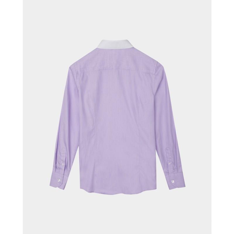 Сиреневая рубашка Gulliver (фото 5)