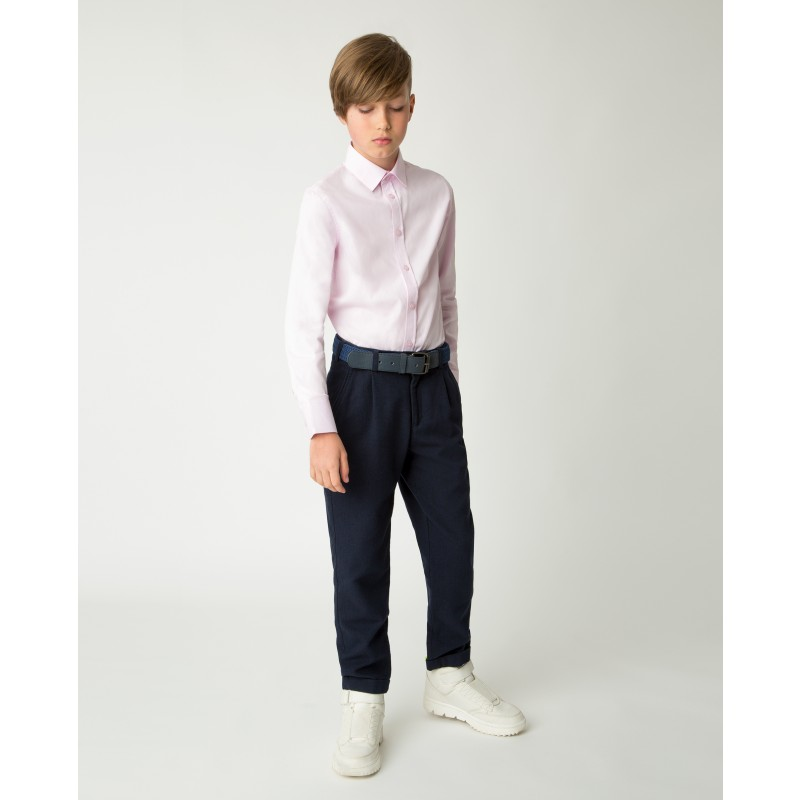 Розовая рубашка Gulliver
