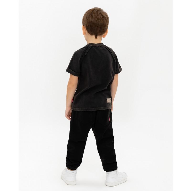 Черная футболка с принтом Gulliver (фото 5)