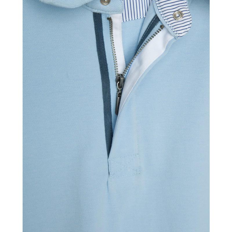 Голубое поло Gulliver (фото 5)