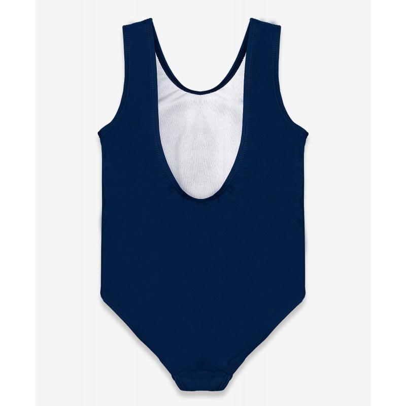 Синий купальник с принтом Button Blue (фото 2)
