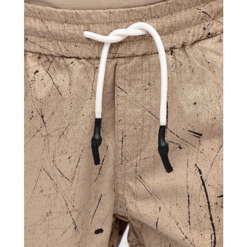 Бежевые брюки с принтом Gulliver (фото 5)