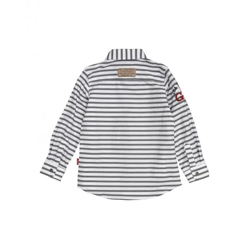 Рубашка в полоску Gulliver (фото 2)