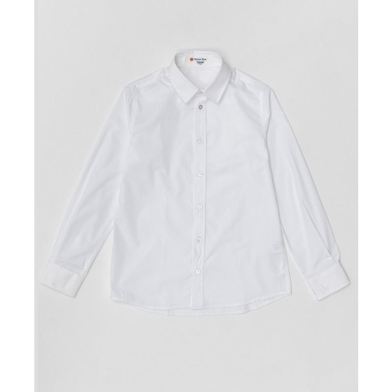 Белая рубашка Button Blue