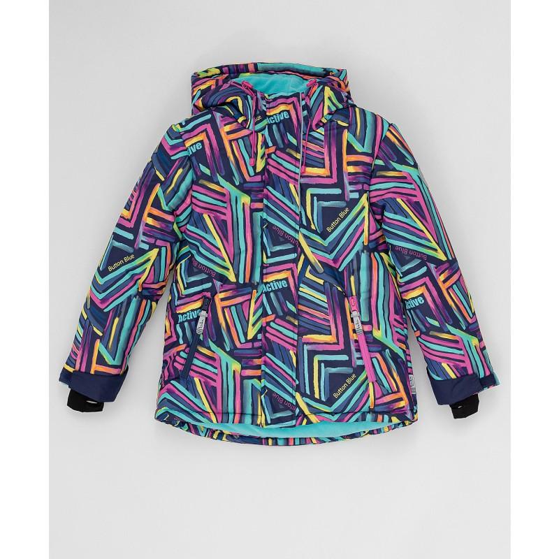 Зимняя куртка Active Button Blue (фото 3)