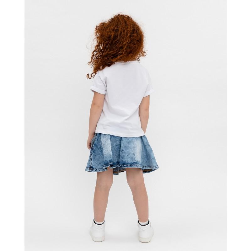 Белая футболка с принтом Gulliver (фото 4)