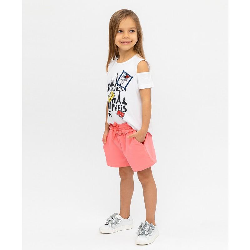 Розовые шорты Button Blue (фото 3)